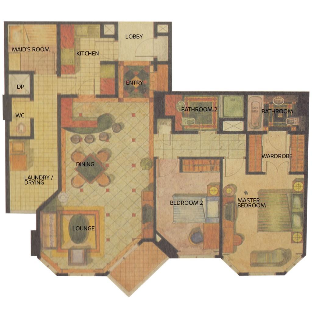 Apartemen Gandaria 2kamar-unit-2-7